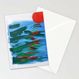 Into the Sea! Stationery Cards