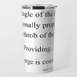 The Angle Travel Mug