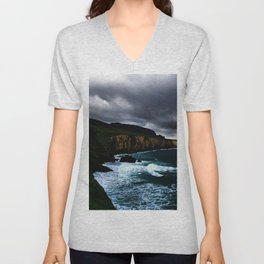 Irish Seascape Unisex V-Neck