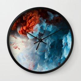 Collision II Wall Clock