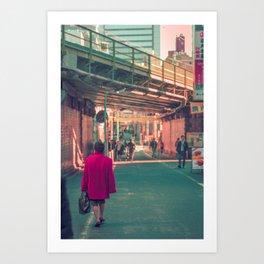 TOKYO RED Art Print