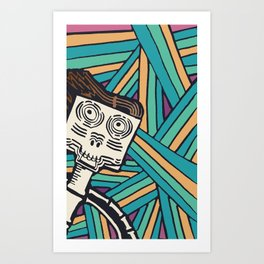 Cadaver Endeavor Art Print