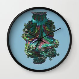 Abstract Fractals Number 35. Wall Clock