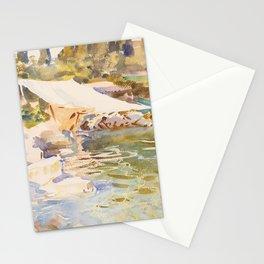 """John Singer Sargent """"Lake Garda"""" Stationery Cards"""