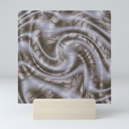 Swirling Down The Road To Pencil Town Mini Art Print