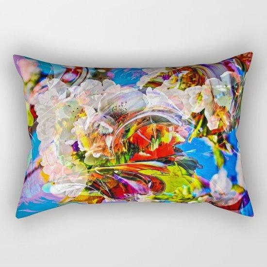 Abstract Perfection 14  Spring Rectangular Pillow