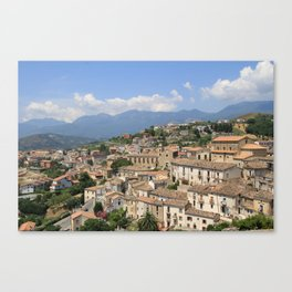 Altomonte, Italy Canvas Print