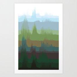 Vocalscape IV Art Print