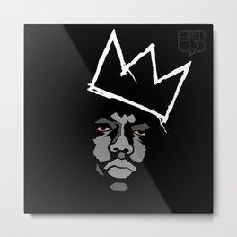 Biggie Basquiat Metal Print