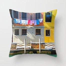 Venice, Italy Throw Pillow