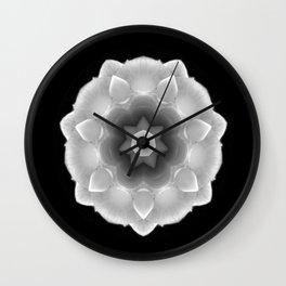 Kaleidoscope of a Rose Wall Clock