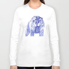 Saber Tooth Tiger. Long Sleeve T-shirt