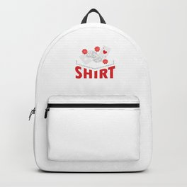 I Bought This Shirt Card Games Playing Cards Card Tricks Gifts Backpack