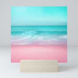 ocean sea beach america pacific Mini Art Print