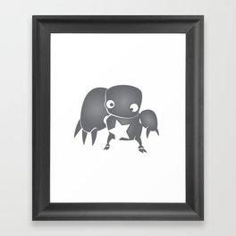 minima - slowbot 003 Framed Art Print