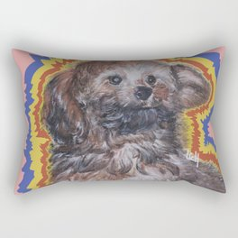 pink Asher Rectangular Pillow