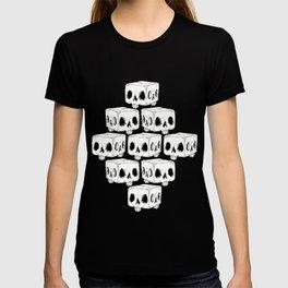 Infinite Square Skulls  T-shirt