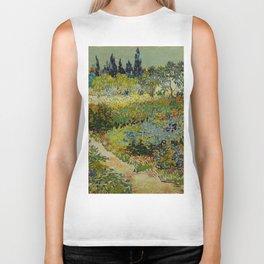 "Vincent van Gogh ""Garden at Arles"" Biker Tank"