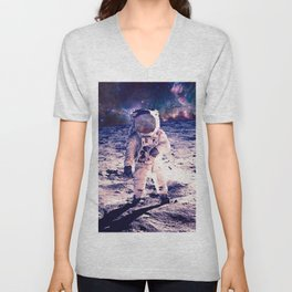 Spacewalk Nebula Unisex V-Neck