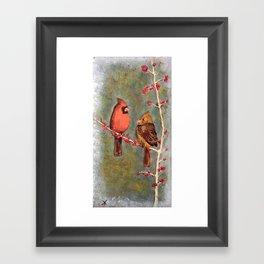 Birdies Framed Art Print