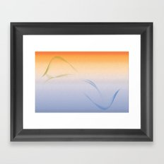 Land to Sea - Fire Framed Art Print