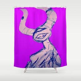 Hell Lobster Shower Curtain