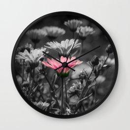 Dash of Pink Wall Clock