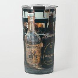 Vintage Whiskey Travel Mug