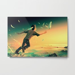 Pursuit of Happiness Metal Print