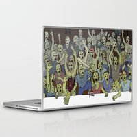 zombies Laptop & iPad Skins featuring Zombies!!! by Justin McElroy