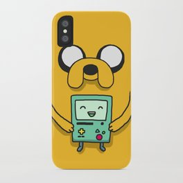 Jake and BMO iPhone Case
