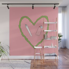 i love hanging out with you Wall Mural