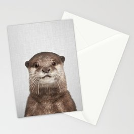 Otter - Colorful Stationery Cards