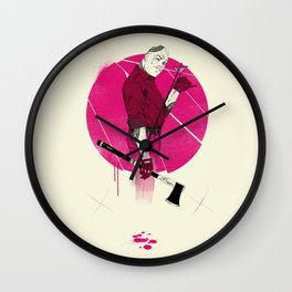 Mr Spiv Wall Clock
