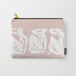 Blush abstract Carry-All Pouch