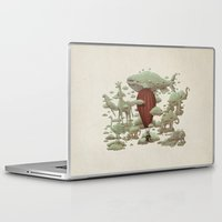 cloud Laptop & iPad Skins featuring Cloud Watching by Terry Fan