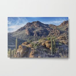 Gates Pass - Tucson Mountains Metal Print