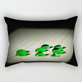 Emerald Rain Rectangular Pillow