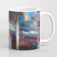 "courage Mugs featuring ""Courage"" by Kasia Pawlak"