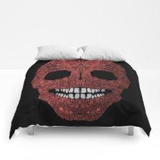 Skull No.8 Chagrin Comforters