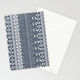 Adobe in Navy Blue and White Stationery Cards