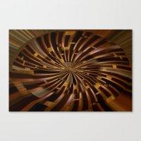 labyrinth Canvas Prints featuring Labyrinth by Syella