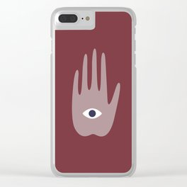 hamsa I Clear iPhone Case