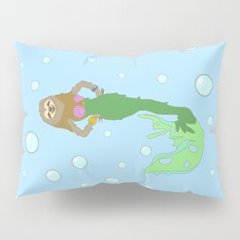 Sloth Mermaid Pillow Sham