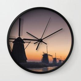Dutch Dawn Wall Clock