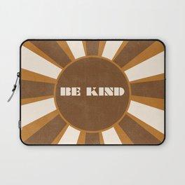 Be Kind brown Laptop Sleeve