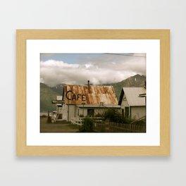 Hope, Alaska Framed Art Print