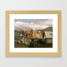 Hope, Alaska Framed Art Print