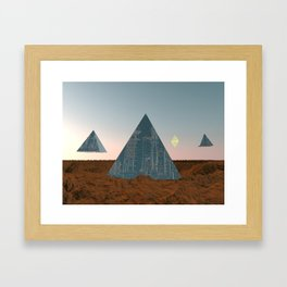 Exit Planet Dust Framed Art Print