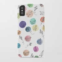 plane iPhone & iPod Cases featuring Plane by Infra_milk